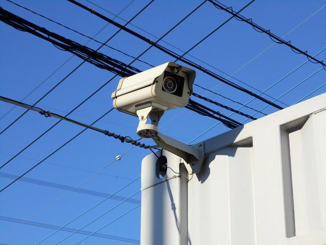 コンテナ鴻巣第一 防犯カメラ設置